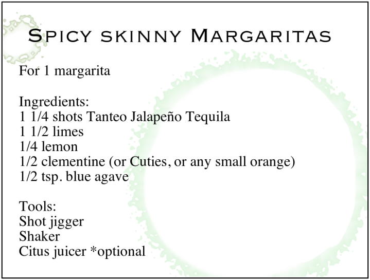 Skinny Marg Recipe